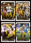 2017 Donruss Football Team Set - GREEN BAY PACKERS