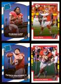 2017 Donruss Football Team Set - KANSAS CITY CHIEFS