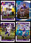 2017 Donruss Football Team Set - MINNESOTA VIKINGS