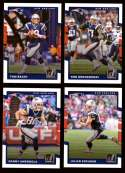 2017 Donruss Football Team Set - NEW ENGLAND PATRIOTS