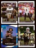 2017 Donruss Football Team Set - NEW ORLEANS SAINTS
