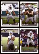 2017 Donruss Football Team Set - OAKLAND RAIDERS