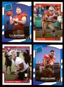 2017 Donruss Football Team Set - SAN FRANCISCO 49ERS