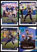 2017 Donruss Football Team Set - SEATTLE SEAHAWKS