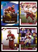 2017 Donruss Football Team Set - WASHINGTON REDSKINS