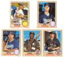2017 Topps Heritage Minors - HOUSTON ASTROS (5 card Team Set)