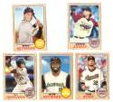 2017 Topps Heritage Minors - SAN FRANCISCO GIANTS (5 card Team Set)