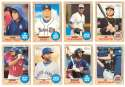 2017 Topps Heritage Minors - TORONTO BLUE JAYS (8 card Team Set)