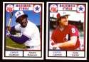 1981 RC Cola Baseball Stars - MONTREAL EXPOS