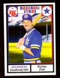 1981 RC Cola Baseball Stars - SEATTLE MARINERS
