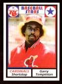 1981 RC Cola Baseball Stars - ST LOUIS CARDINALS