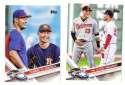 2017 Topps Update - 2 card Combo Lot