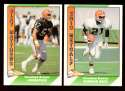 1991 Pacific (1-550) Football Team Set - CLEVELAND BROWNS