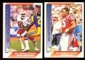 1991 Pacific (1-550) Football Team Set - NEW ENGLAND PATRIOTS
