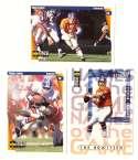 1997 Collector's Choice Football Team Set - DENVER BRONCOS