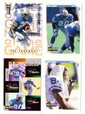 1997 Collector's Choice Football Team Set - DETROIT LIONS