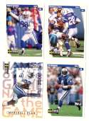 1997 Collector's Choice Football Team Set - INDIANAPOLIS COLTS
