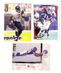 1997 Collector's Choice Football Team Set - NEW YORK GIANTS