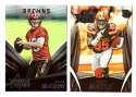 2015 Rookies and Stars Football Team Set - CLEVELAND BROWNS