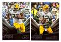 2015 Rookies and Stars Football Team Set - GREEN BAY PACKERS