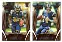 2015 Rookies and Stars Football Team Set - ST. LOUIS RAMS