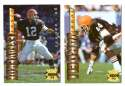 1995 Collector's Edge Football Team Set - CLEVELAND BROWNS