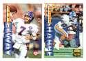 1995 Collector's Edge Football Team Set - DENVER BRONCOS