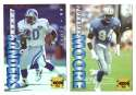 1995 Collector's Edge Football Team Set - DETROIT LIONS