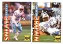 1995 Collector's Edge Football Team Set - HOUSTON TEXANS