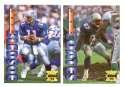 1995 Collector's Edge Football Team Set - NEW ENGLAND PATRIOTS