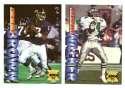1995 Collector's Edge Football Team Set - NEW YORK GIANTS