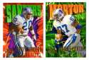 1997 SkyBox Impact Football - DETROIT LIONS