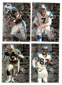 2000 Black Diamond (1-120) Football Team Set - CAROLINA PANTHERS