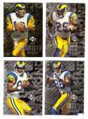 2000 Black Diamond (1-120) Football Team Set - ST. LOUIS RAMS