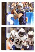 2008 SP Rookie Edition Football Team Set - SAN DIEGO CHARGERS