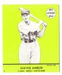 1941 Goudey (Green) Reprints - CINCINNATI REDS