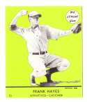 1941 Goudey (Green) Reprints - PHILADELPHIA ATHLETICS / A'S Team Set