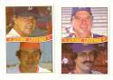 1984 Donruss - Living Legends (2 cards)