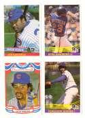 1984 Donruss - CHICAGO CUBS Team Set