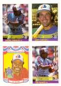 1984 Donruss - MONTREAL EXPOS Team Set