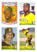 1984 Donruss - PITTSBURGH PIRATES Team Set