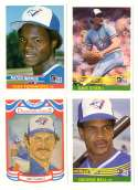 1984 Donruss - TORONTO BLUE JAYS Team Set