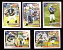 2005 Topps Total Football Team Set - TENNESSEE TITANS
