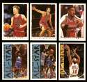 1994-95 Topps Basketball Team Set - Chicago Bulls