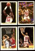 1994-95 Topps Basketball Team Set - Houston Rockets