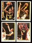1994-95 Topps Basketball Team Set - Indiana Pacers