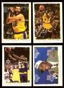1994-95 Topps Basketball Team Set - Los Angeles Lakers
