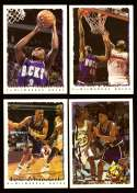 1994-95 Topps Basketball Team Set - Milwaukee Bucks