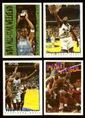 1994-95 Topps Basketball Team Set - Orlando Magic