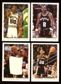 1994-95 Topps Basketball Team Set - San Antonio Spurs